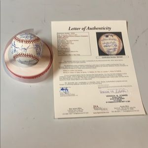 Other - Phillies 1980 World Series team signed baseball